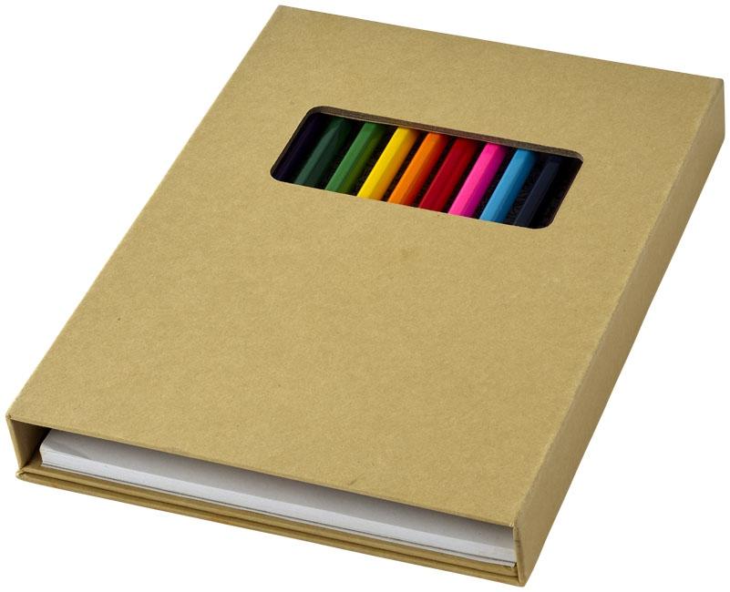 Set de coloriage Pabloc - carnet publicitaire