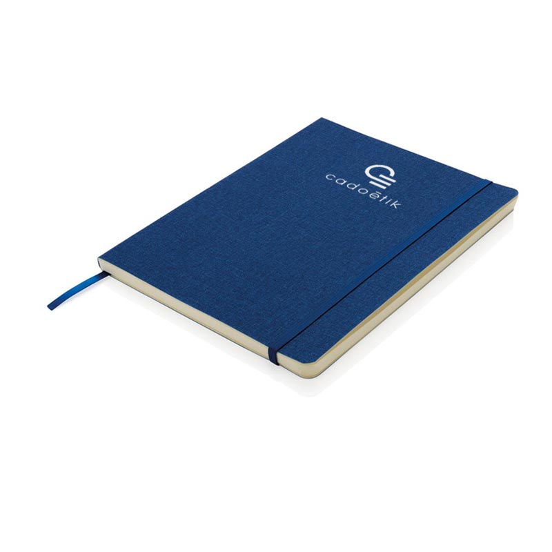 Carnet de notes publicitaire B5 souple aspect chiné