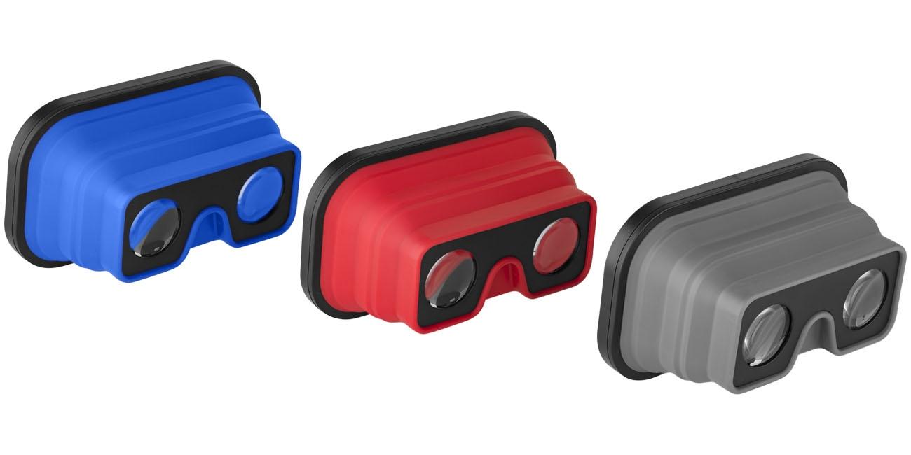 Lunettes de Réalité Virtuelle publicitaires pliables Zoé - cadeau publicitaire