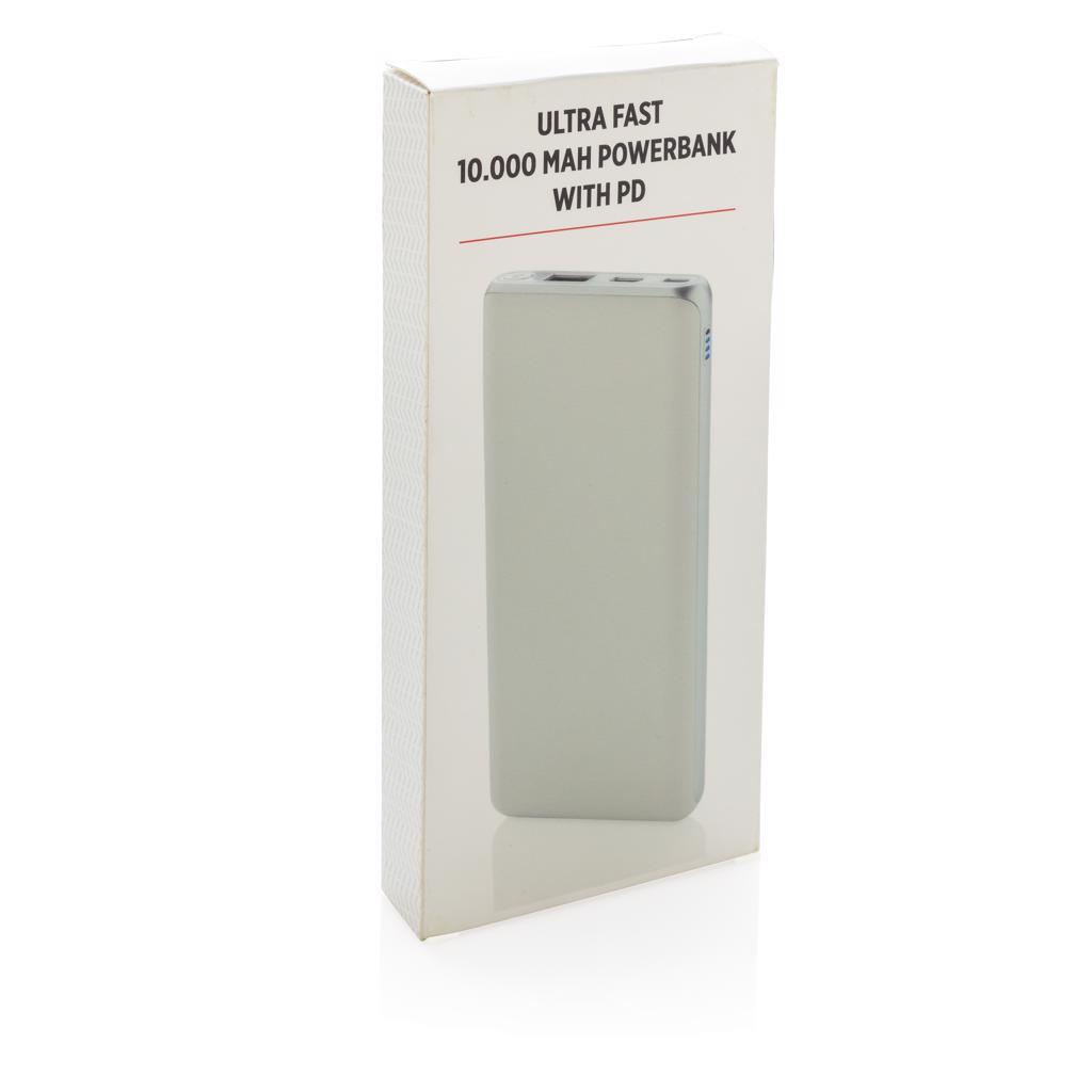 cadeau d'entreprise high-tech - chargeur personnalisable Full 10000mAh