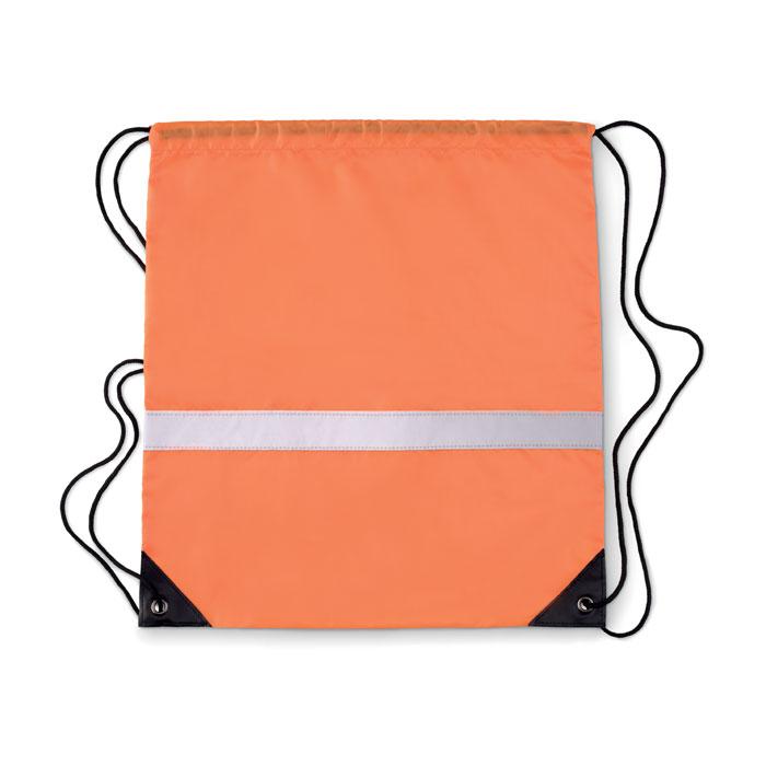 Gymbag publicitaire avec bandes réfléchissantes Stripe