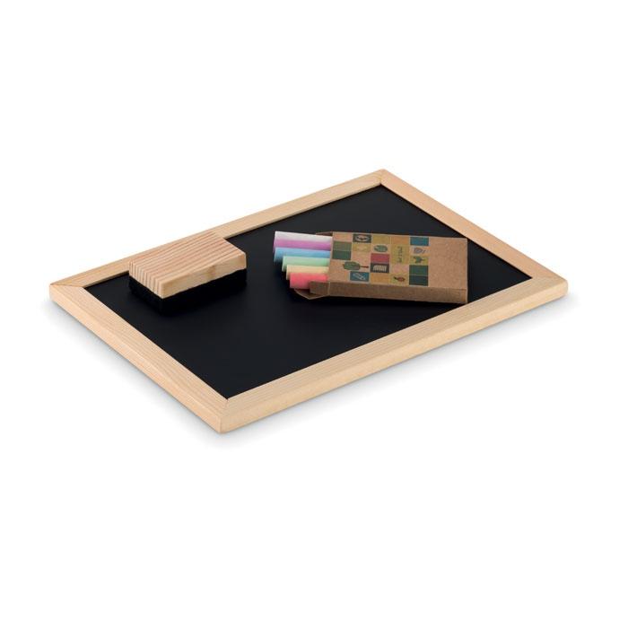 objet publicitaire - Coffret ardoise Chalk Set