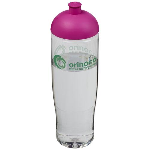 Cadeau d'entreprise pour le sport - Bouteille de sport personnalisable H2O Tempo® 700 ml avec couvercle en dôme