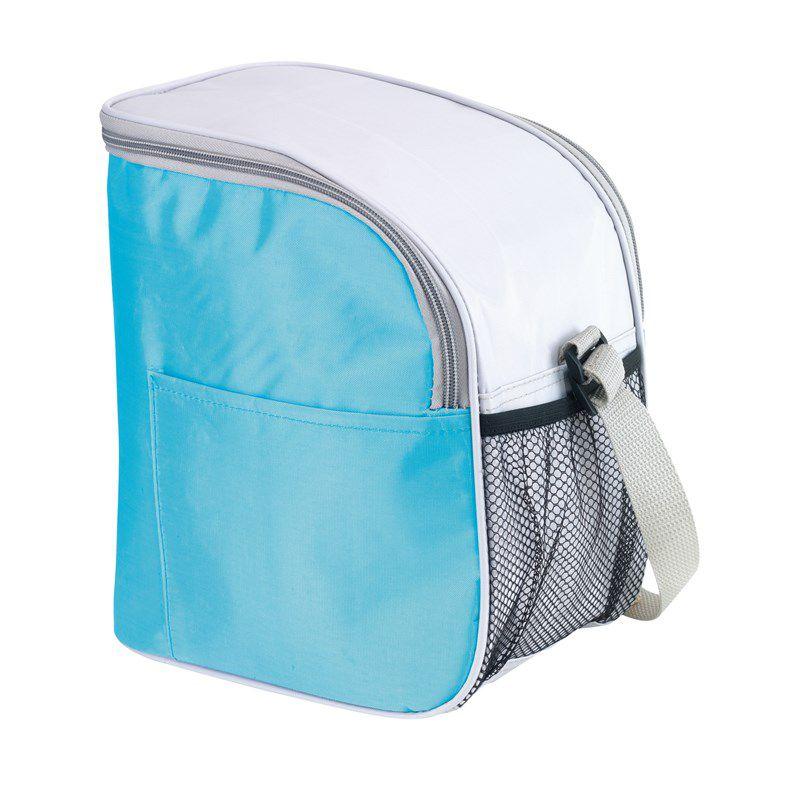 Sac isotherme publicitaire orange Glacial - Lunch bag personnalisé