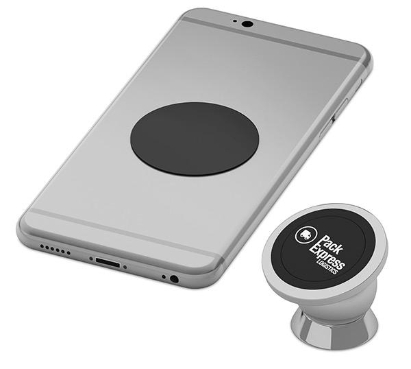 Support smartphone magnétique Chromy - Cadeau publicitaire