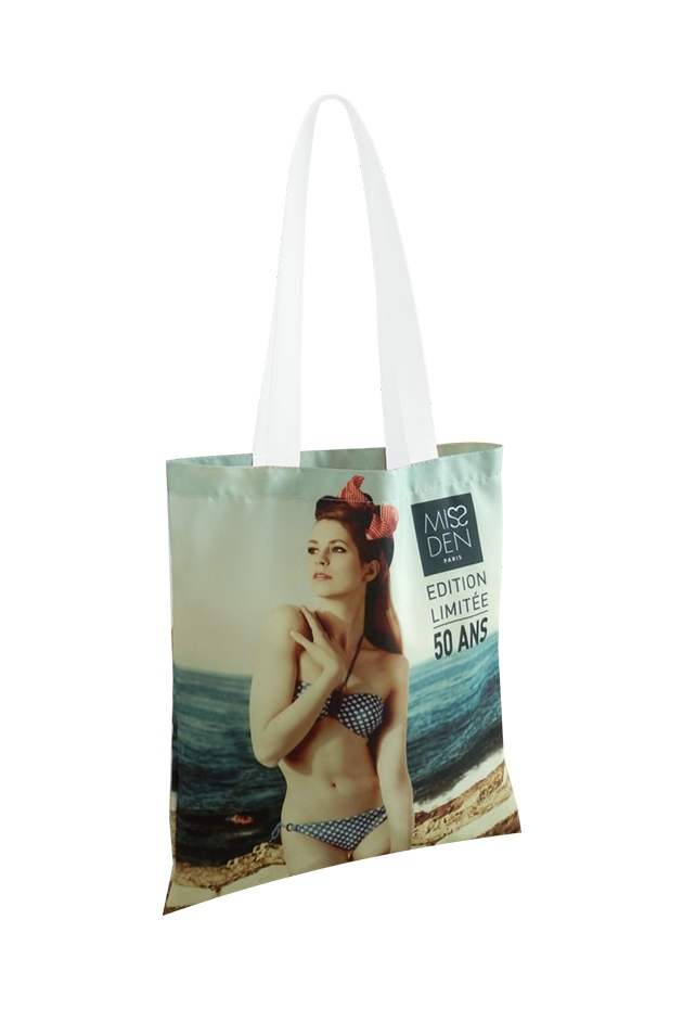 Sac shopping publicitaire Sublimé - Tote bag ultra personnalisable