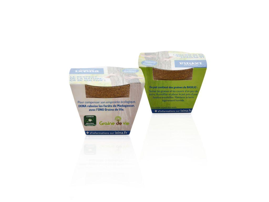 Kit Jardin Ecolo - graines publicitaires