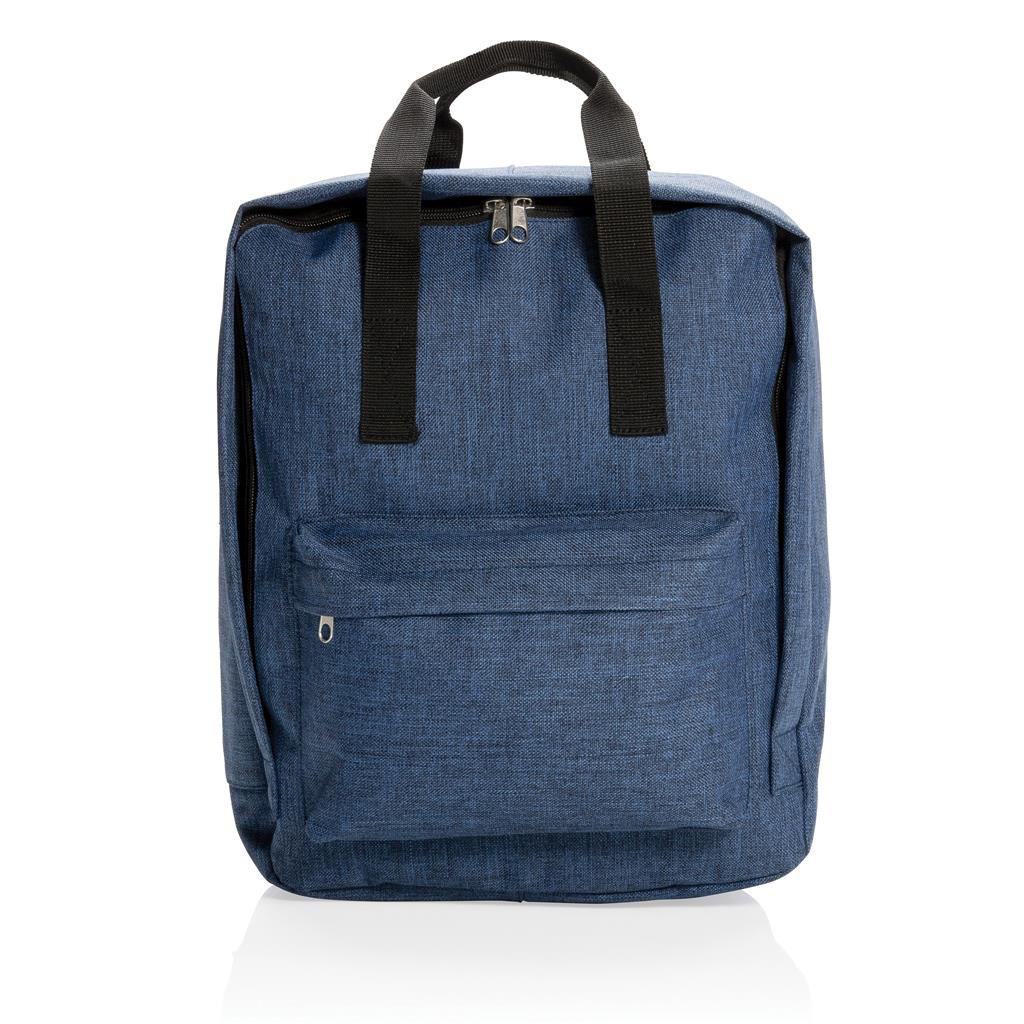 Cadeau publicitaire - sac à dos personnalisé Ursule bleu