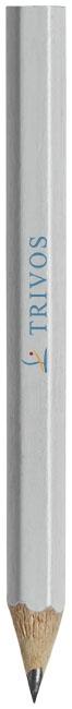Crayon à papier publicitaire avec corps de couleur Par blanc