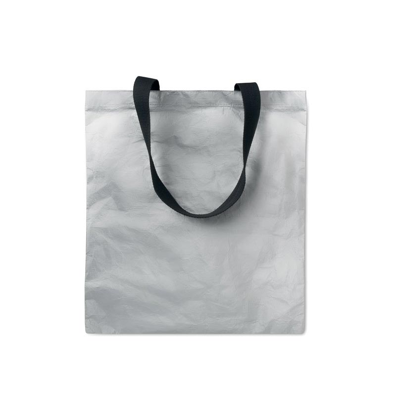 Sac shopping personnalisable Tyvek® Silver Tytote