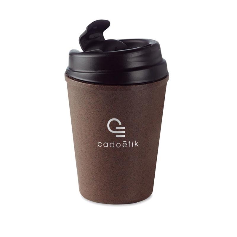 Goodies entreprise - Mug publicitaire isotherme Brazil