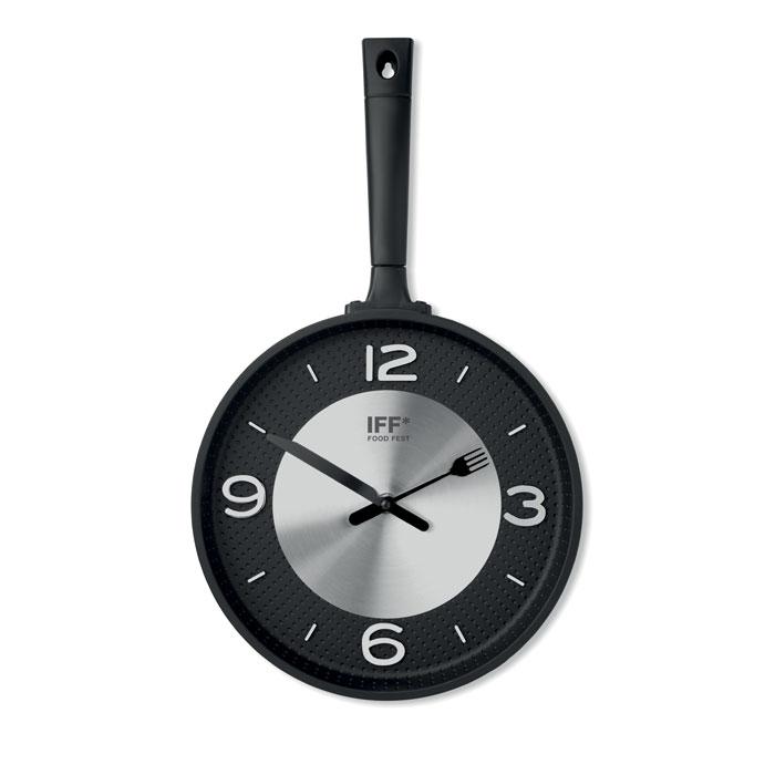 cadeau publicitaire - Horloge publicitaire en forme de casserole Paella