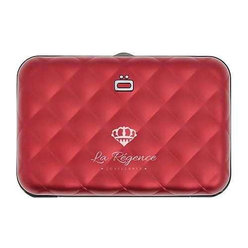Goodies - Porte-cartes RFID personnalisé alu Royal
