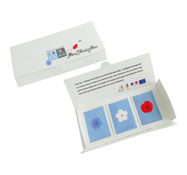 Enveloppe 3 sachets de graines - Goodies écologique