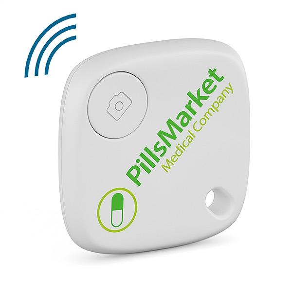 Traceur de clés publicitaire SmartFinder Home - Traceur de clés personnalisable