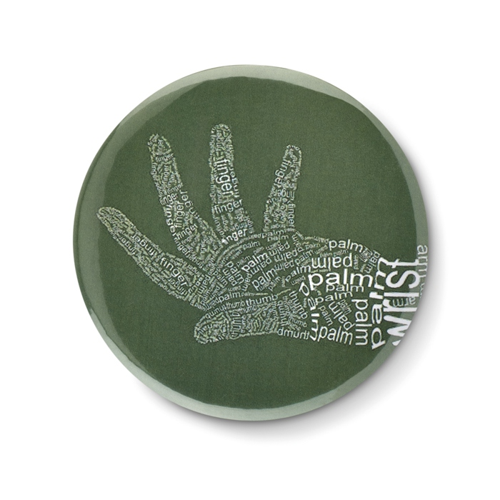 Pins personnalisé - Badge personnalisable miroir Mirror