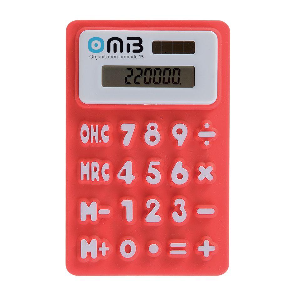 Calculatrice promotionnelle écologique Springy - objet publicitaire