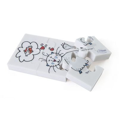 Gadget-Goodies - Puzzle gomme personnalisable Funny