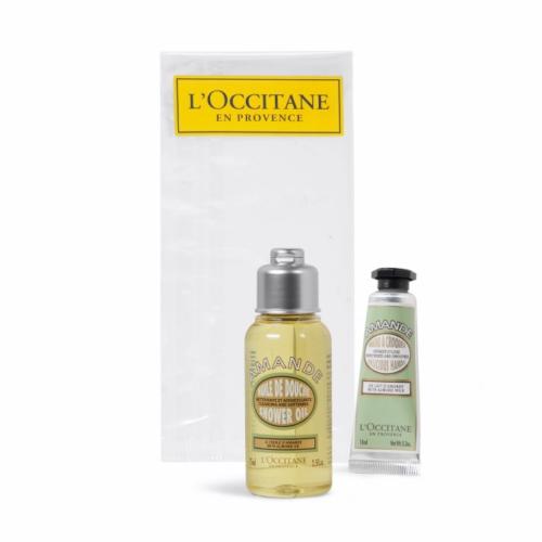 Mini coffret publicitaire Peau douce de L'Occitane en Provence - cadeau d'entreprise