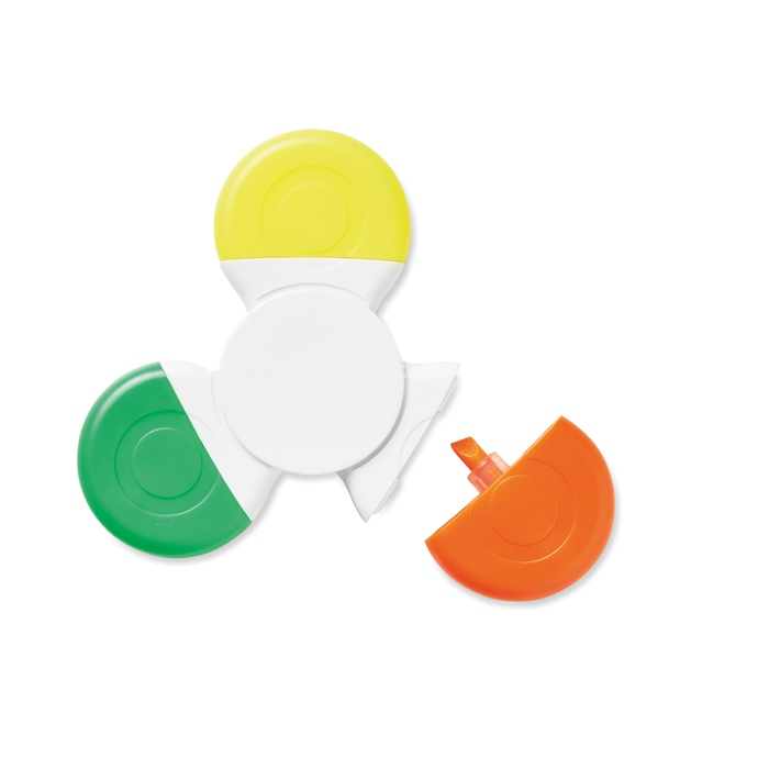 Surlingneur Hand spinner  Spinmark 3 couleurs