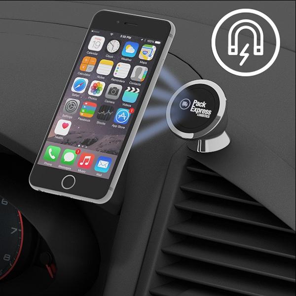 Support smartphone magnétique Chromy - Cadeau d'entreprise high-tech