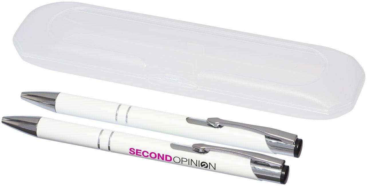 Parure de stylos publicitaires Belfast - parure personnalisée