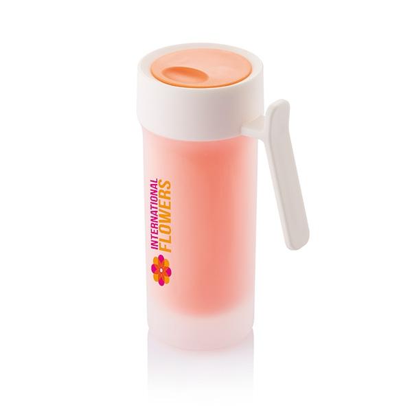 Mug promotionnel Pop vert/blanc - mug personnalisable