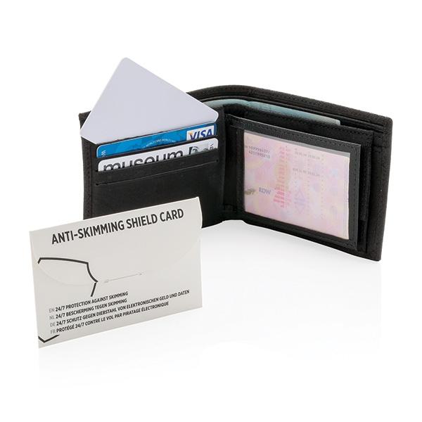 Accessoire publicitaire high-tech - Carte bouclier anti-RFID Shield