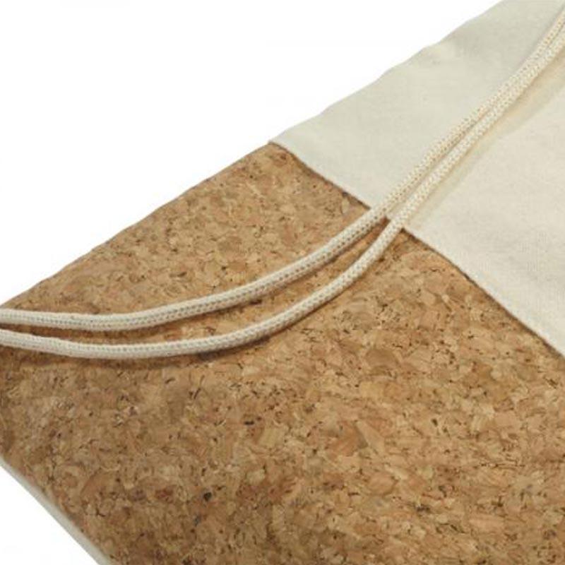 Gym bag personnalisable premium coton et liège