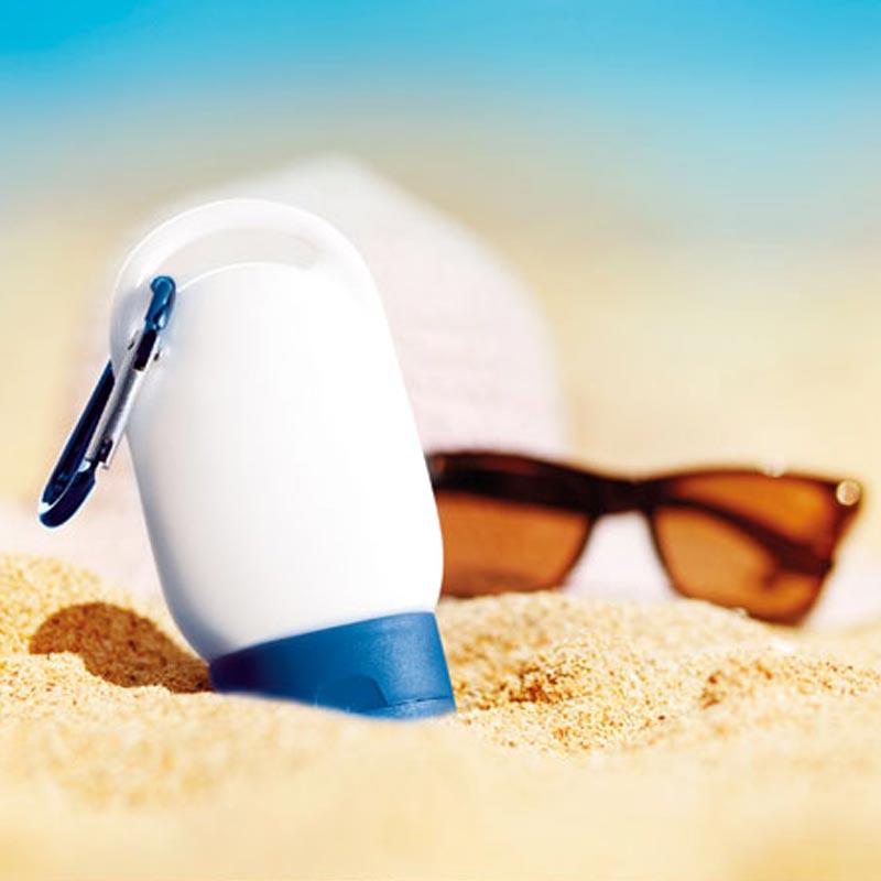 Crème solaire publicitaire Suncare
