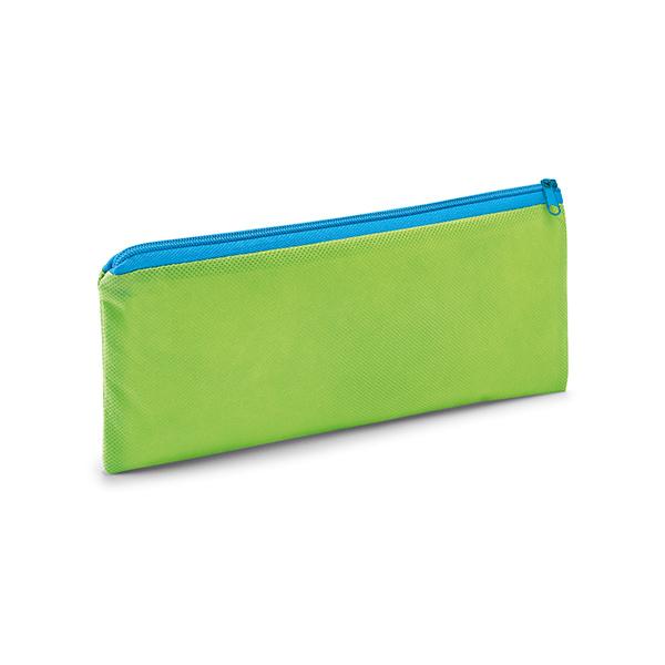 Trousse à crayons personnalisable écologique Aftertime bleu clair - goodies