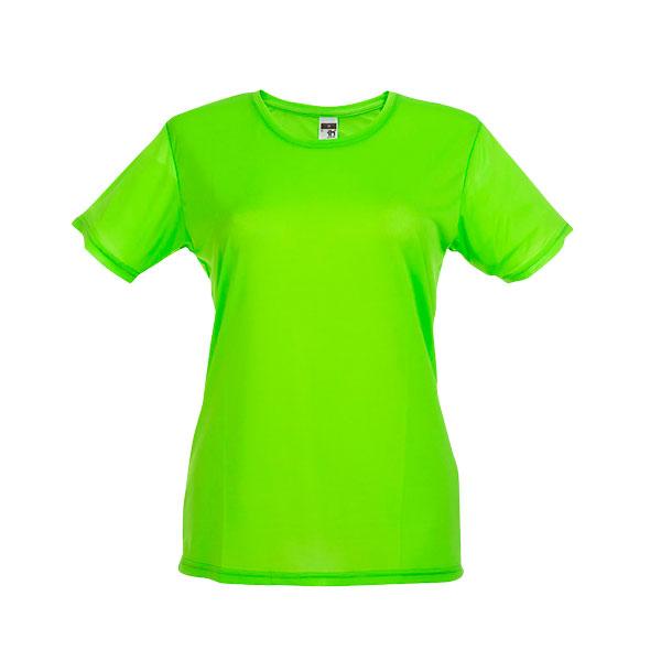 T-shirt publicitaire technique femme Nicosia - rose