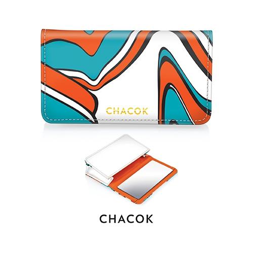 Pochette publicitaire avec miroir CHACOK - cadeau d'entreprise pour femmes