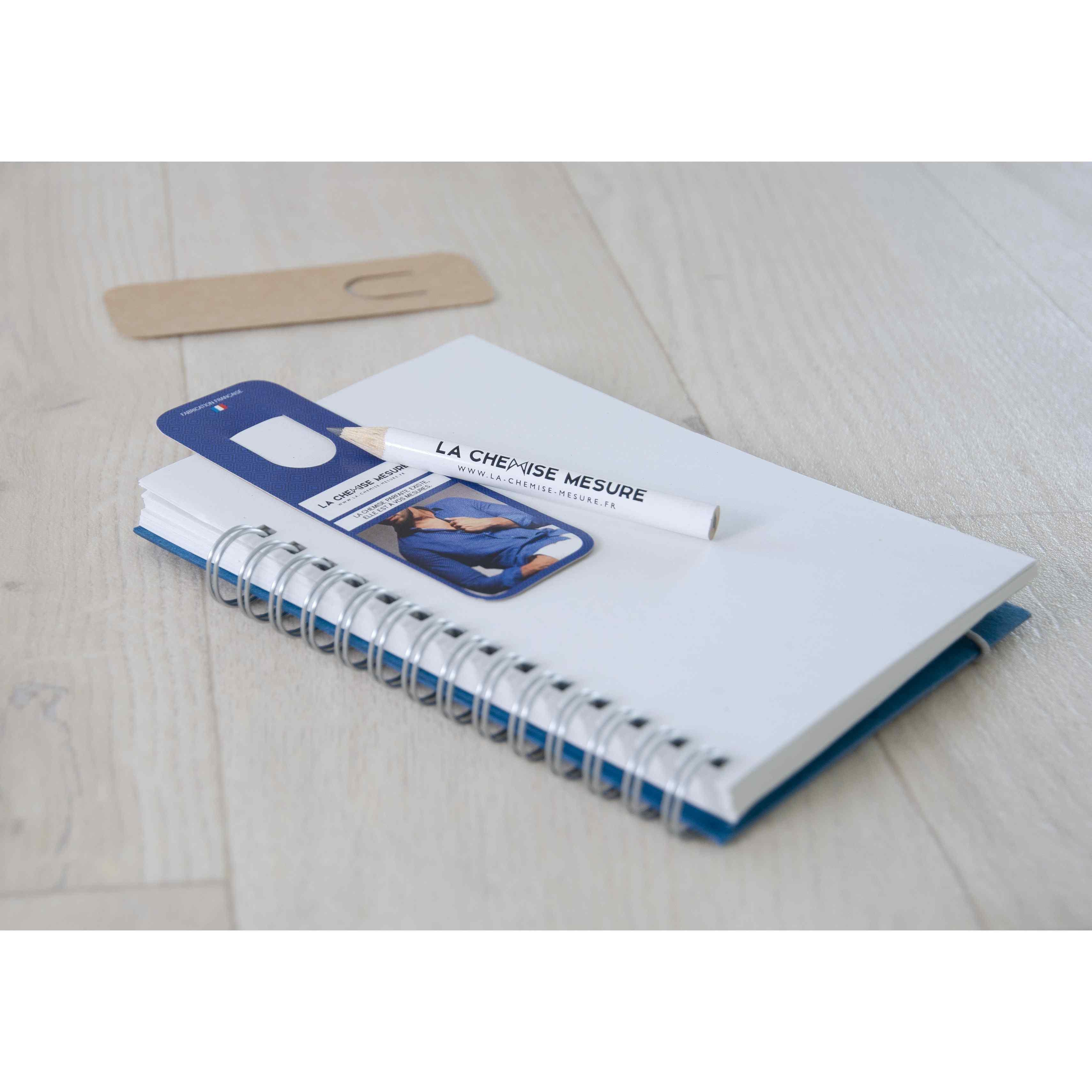 marque-page personnalisé - kit crayon papier et marque-page personnalisé Eco