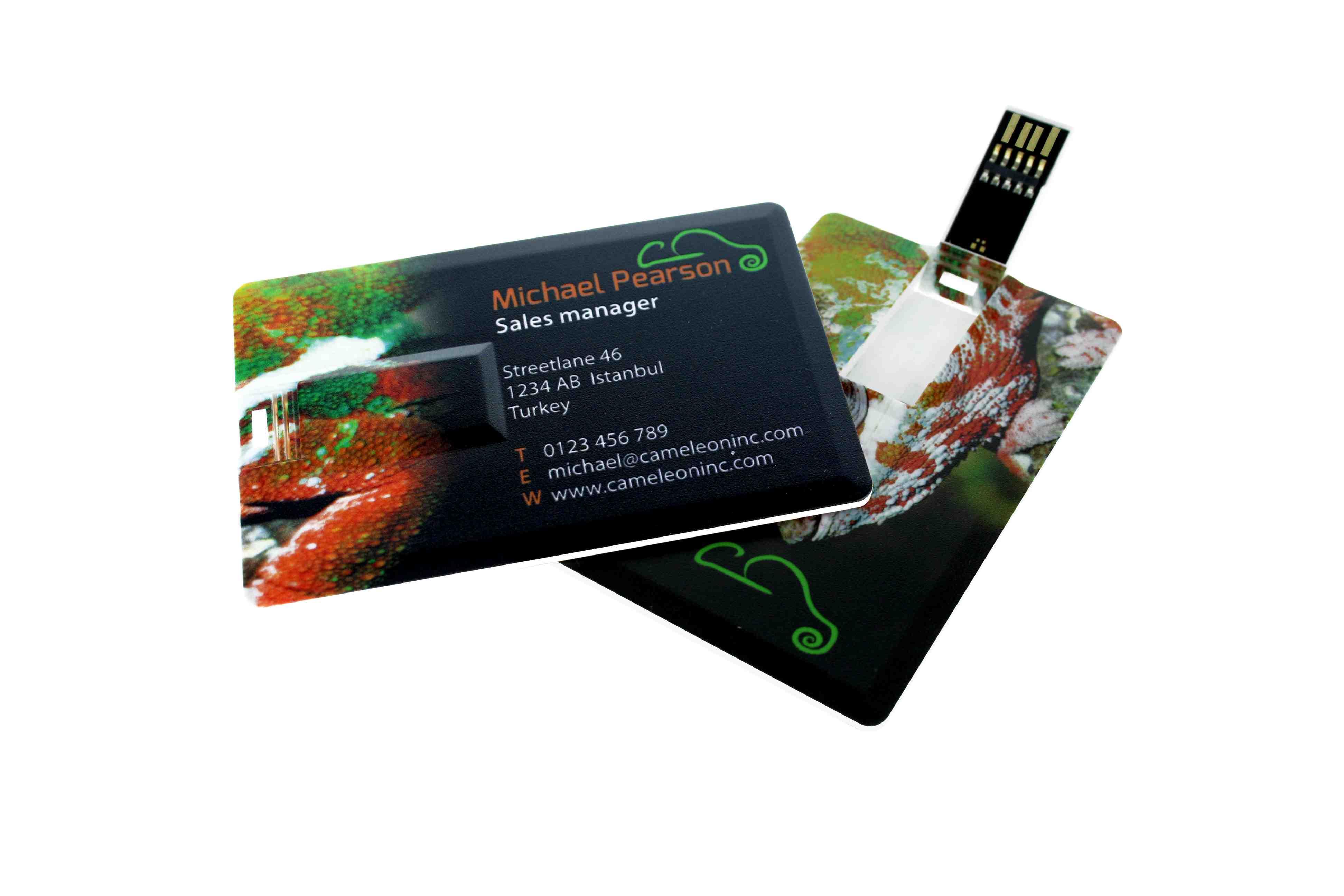 Cadeau publicitaire - Clé USB publicitaire carte de crédit 3.0