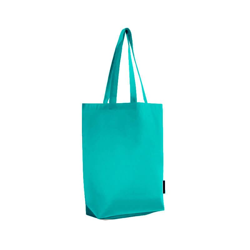 Tote bag personnalisé Ariel bleu