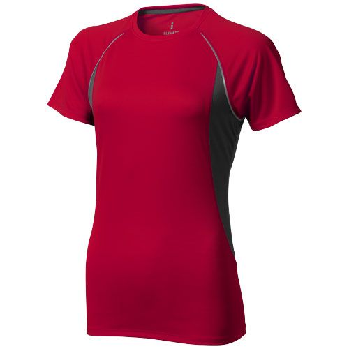 T-shirt rouge et noir