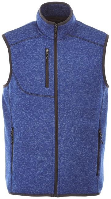 Textile publicitaire - Bodywarmer publicitaire Fontaine - bleu