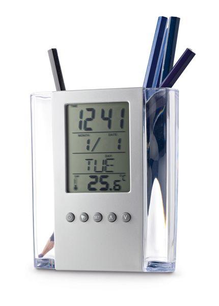 Cadeau publicitaire - Pot à stylos Timer