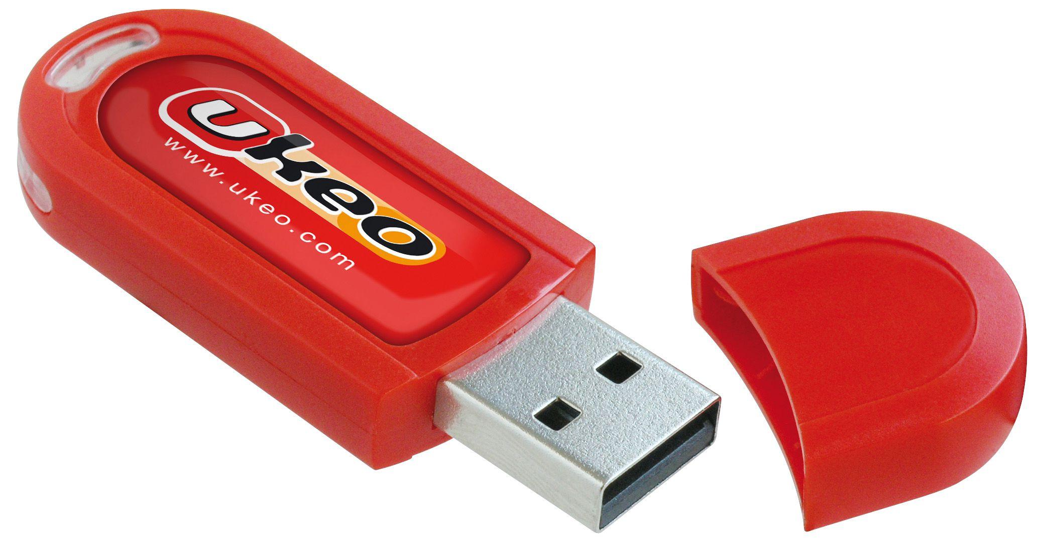 Objet publicitaire écologique - Clé USB personnalisable Ecospring