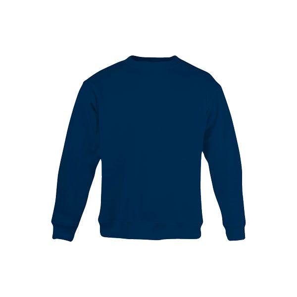 Sweat-shirt publicitaire unisexe col rond Delta - bleu royal