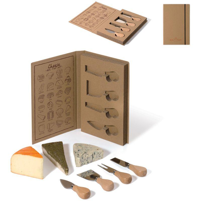 Set à fromage personnalisé Cheesy - cadeau publicitaire écologique
