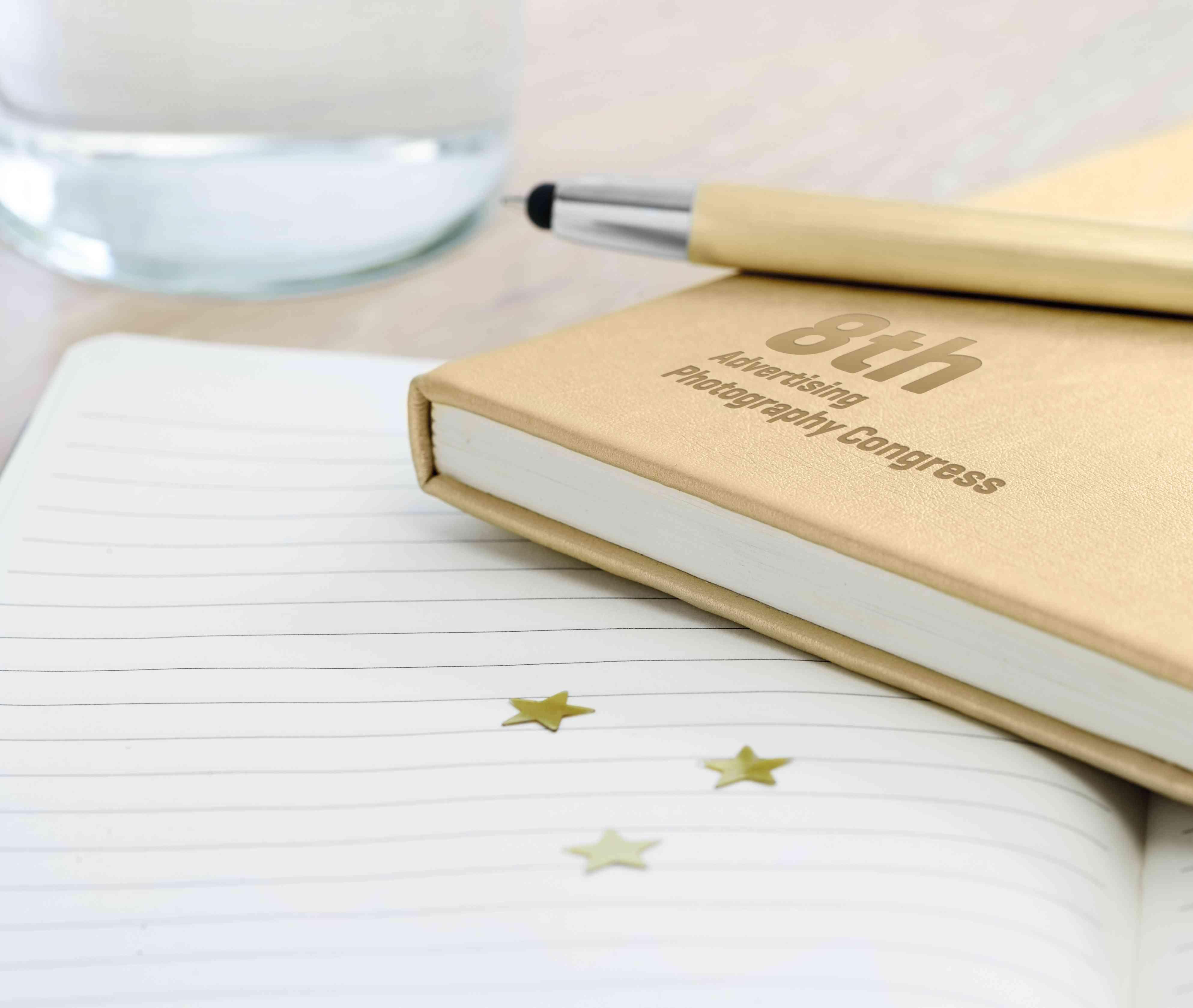 Carnet promotionnel Goldies A5 - carnet publicitaire