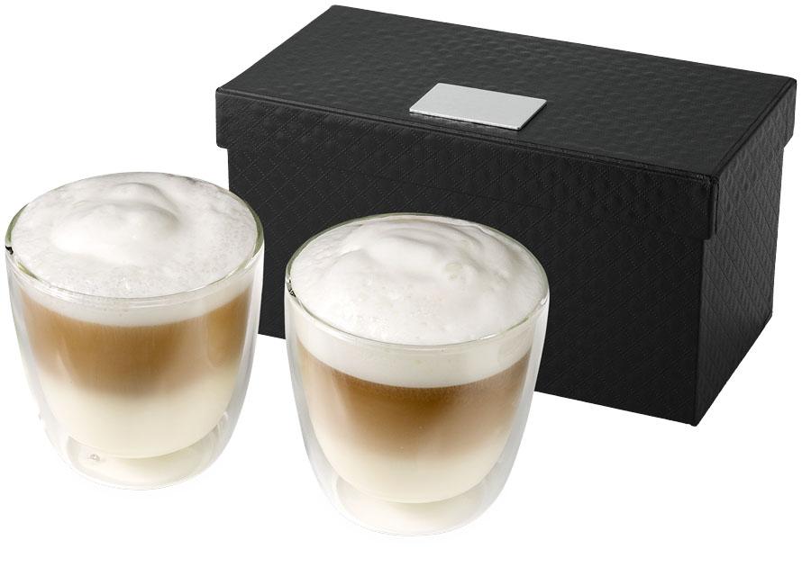 Set cappuccino 2 pièces Jeff - Cadeau ûblicitaire