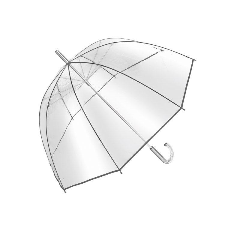 Parapluie publicitaire Bellevue - parapluie personnalisé transparent