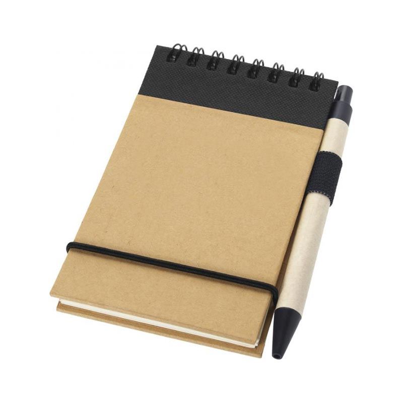 Bloc-notes avec stylo Zuse - Cadeau d'entreprise écologique
