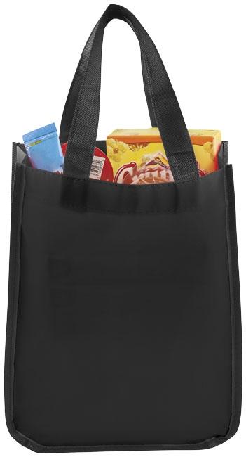 Petit sac shopping personnalisé laminé Pequeno - goodies salon
