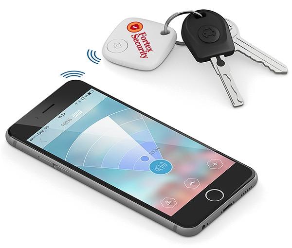 Traceur de clés publicitaire SmartFinder Home - Cadeau publicitaire