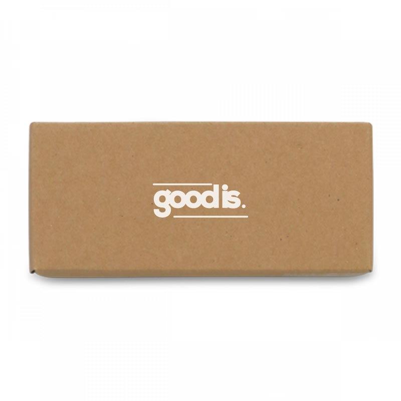Coffret cadeau porte-clés publicitaire écologique Naturaly - goodies écologique