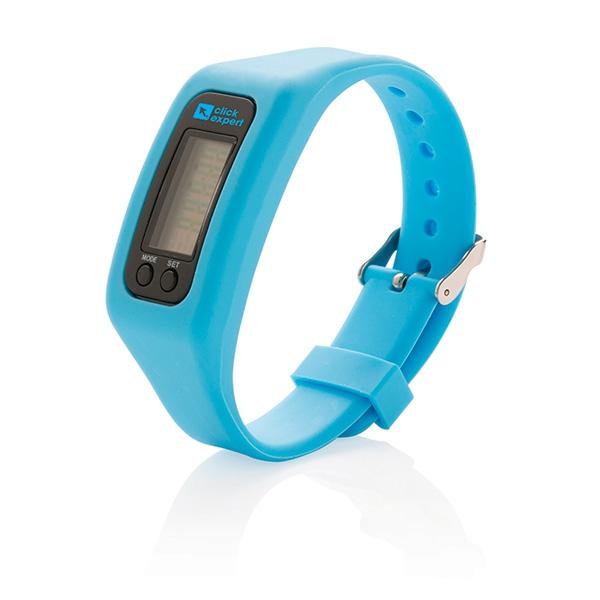 Bracelet sport personnalisable Walking vert citron - cadeau publicitaire high-tech